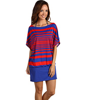 DKNY - Maren Stripe Cover-Up