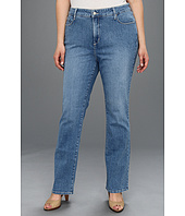 NYDJ Plus Size - Zappos.com Exclusive Plus Size Marilyn Straight Leg in Hawthorne Wash