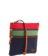 Dooney & Bourke - Nylon 3 Tone North/South Triple Zip