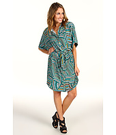 Laundry by Shelli Segal - Kimono Sleeveless Shirt Dress