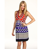 Laundry by Shelli Segal - Zig Zag Color Block Dress