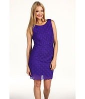 Laundry by Shelli Segal - Diamond Circles Scalloped Lace Dress