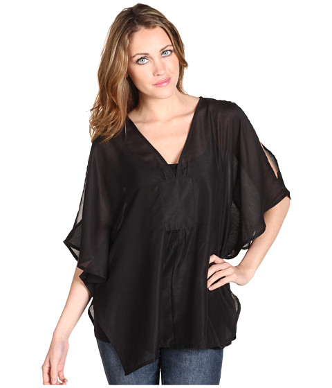 Obey Haram Woven Blouse Black Zappos com Free Shipping BOTH Ways from zappos.com