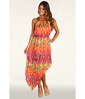 Laundry by Shelli Segal - Tribal Hi-Low Hem Gown