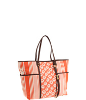 Rafe New York - Tesa Animal and Stripe Jacquard E/W Tote
