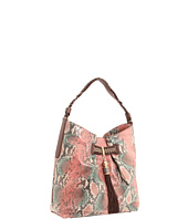 Rafe New York - Zani Painted Python Deep Pleat Hobo