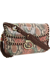 Rafe New York - Eugenia Painted Python Double Flap Clutch