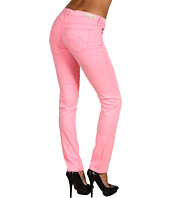 AG Adriano Goldschmied - Stilt Cigarette Leg Stretch Sateen in Neon Pink