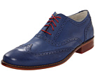 Cole Haan - Air Colton Casual Wing Tip (Navy Textured) - Footwear