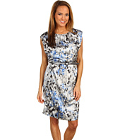 Anne Klein - Modern Camouflage Print Dress