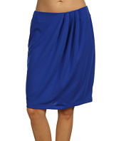 Anne Klein - Asymmetrical Pleated Knit Skirt