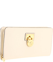MICHAEL Michael Kors - Hamilton Large Zip Around - Gold Hardware