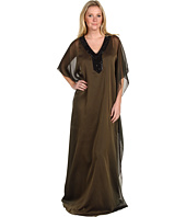 Badgley Mischka - Necklace Caftan Dress