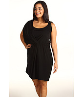 DKNYC - Plus Size Asymmetrical Racerback Dress