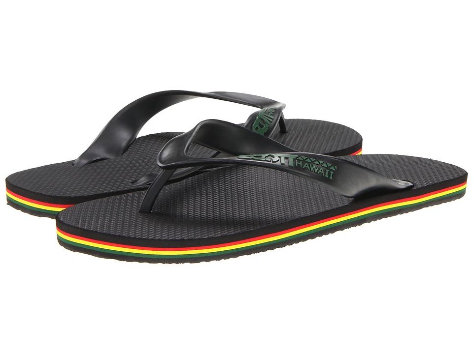 Scott Hawaii - Jawaiian (Black) Mens Sandals