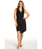 DKNYC - Plus Size Slit Front Dress