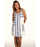 Juicy Couture - Stripe Linen Track Dress