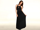 Juicy Couture - East Summer Silk Maxi Dress (Black) - Apparel