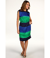 Anne Klein - Ombre Stripe Wedge Dress