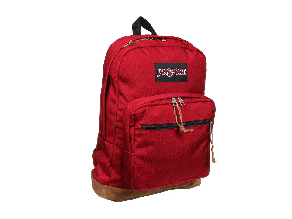 JanSport Right Pack (Viking Red) Backpack Bags