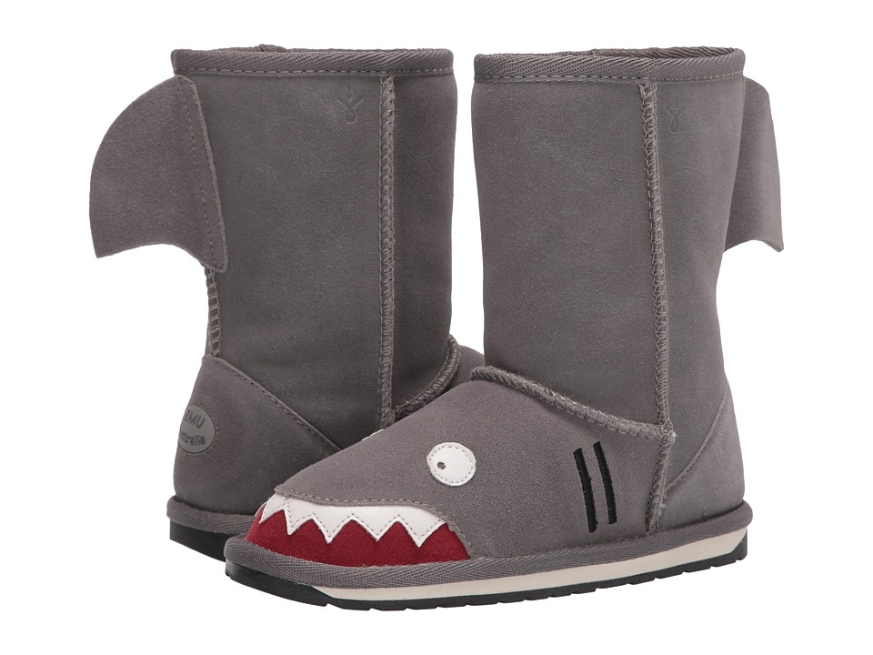 EMU Australia Kids - Little Creatures - Shark (Toddler/Little Kid/Big Kid) (Putty) Boys Shoes