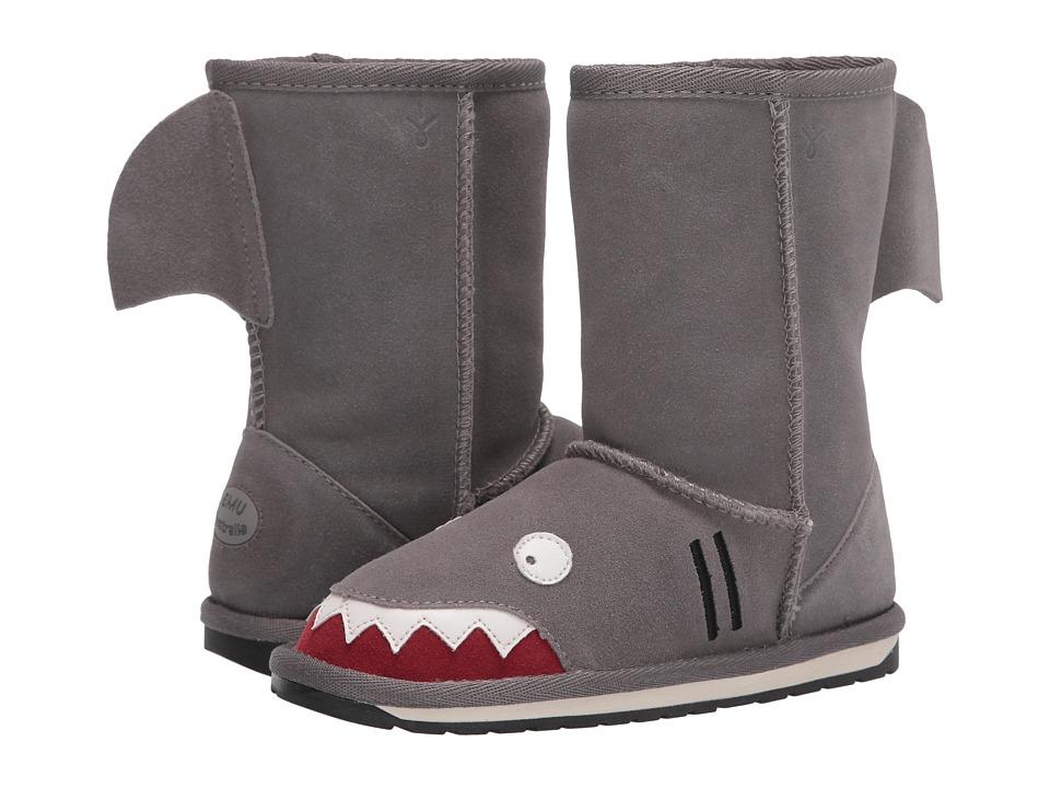 EMU Australia Kids Little Creatures Shark (Toddler/Little Kid/Big Kid) (Putty) Boys Shoes