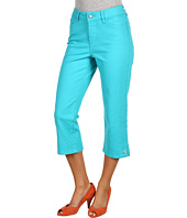 NYDJ - Brandi Cropped Colored Embellished Hem Denim
