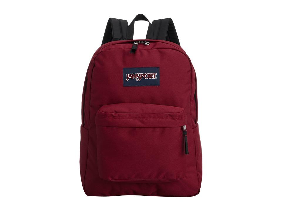 JANSPORT SuperBreak(r) (Viking Red) Backpack Bags