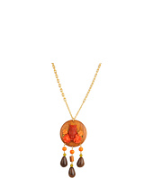 Tarina Tarantino - Cinnamon Girl Disc Owl Necklace