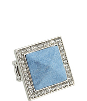 GUESS - Pave & Denim Pyramid Ring
