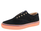 Sperry Top-Sider - Striper Laceless Suede (Black Suede)