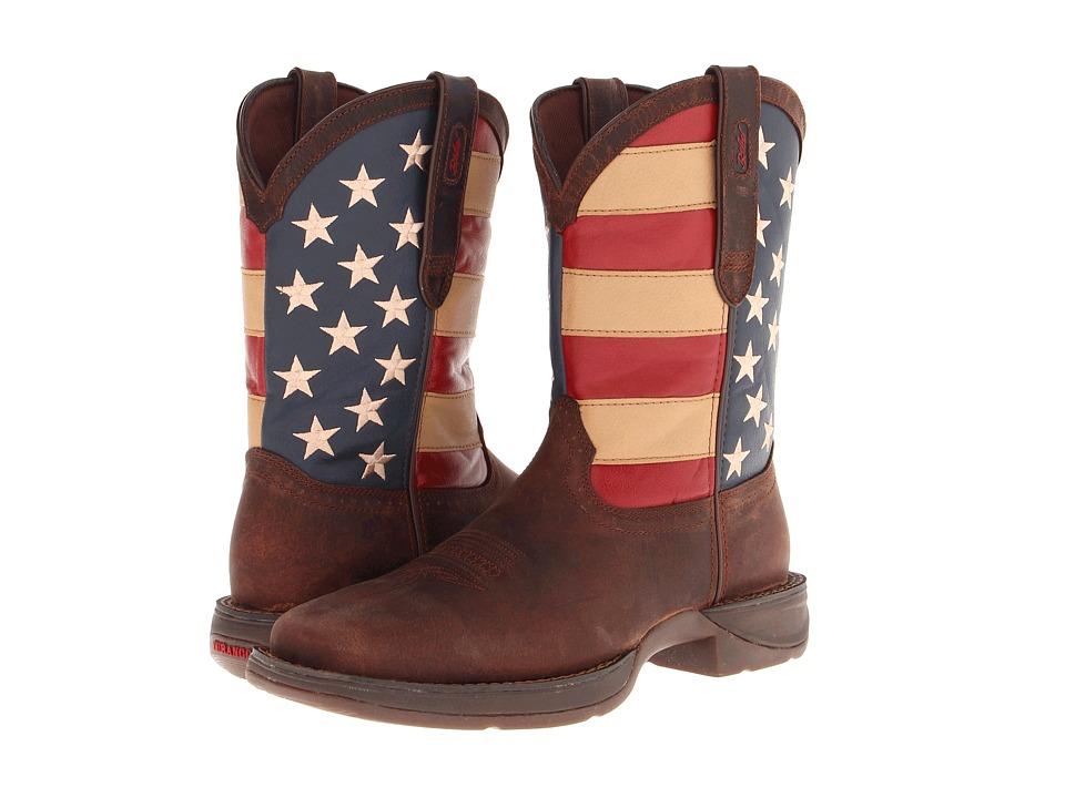 Durango - DB5554 - Flag (Dark Brown) Cowboy Boots