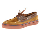 Sperry Top-Sider - Bahama 2-Eye (Tan Suede/Herringbone)