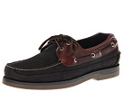 Sperry Top-Sider - Mako 2-Eye Canoe Moc (Black/Amaretto) - Footwear