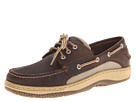 Sperry Top-Sider - Billfish 3-Eye Boat Shoe (Dark Brown) - Footwear