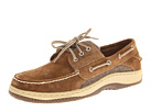 Sperry Top-Sider - Billfish 3-Eye Boat Shoe (Tan Suede/Herringbone)