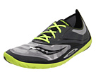 Saucony - Hattori LC (Grey/Black/Citron) - Footwear