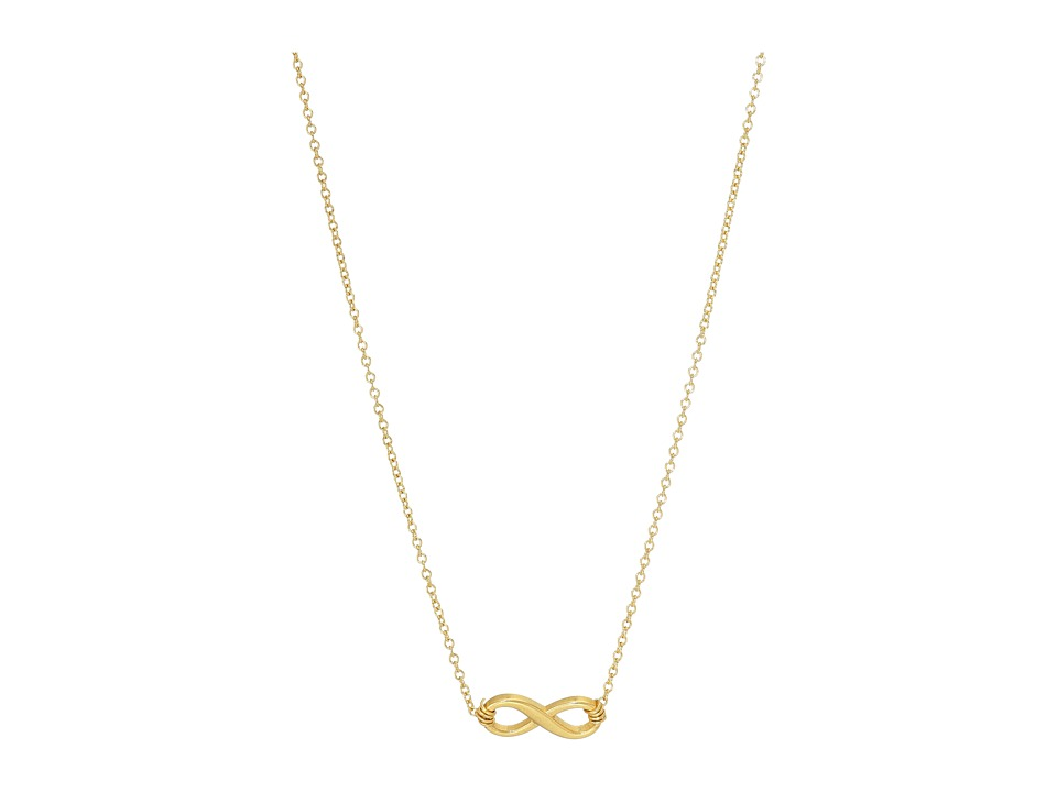 Dogeared - Infinite Love Necklace 16 (Gold) Necklace