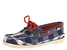 Sperry Top-Sider - A/O 2-Eye (Blue Ikat/Navy)