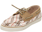 Sperry Top-Sider - Bahama 2-Eye (Ivory Plaid/Sand (Sequins)) - Footwear