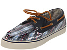 Sperry Top-Sider - Bahama 2-Eye (Blue Plaid/Navy (Sequins))