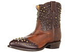 Frye - Billy Studded Short (Maple Calf Shine Vintage) - Footwear