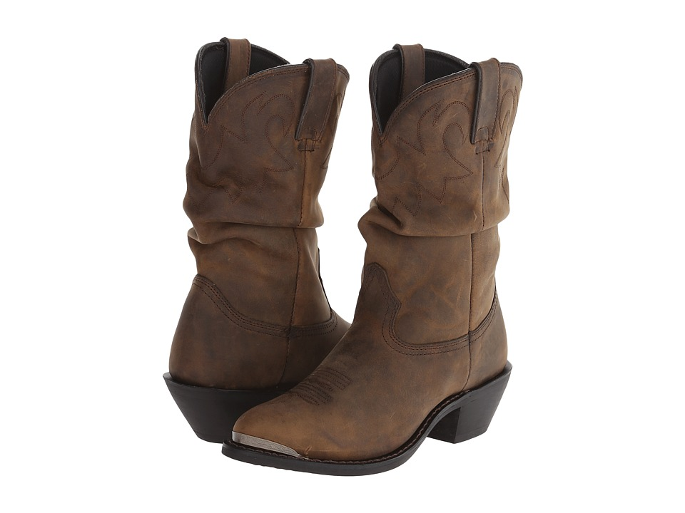 Durango 11 Slouch Boot Tan Womens Boots