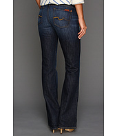 7 For All Mankind - Kimmie Bootcut w/ Contoured Waistband in Midnight New York Dark