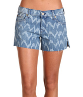 7 For All Mankind - Carlie Cut-Off Short in Laser Ikat Denim