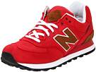 New Balance Classics - ML574 (Red Textile) - Footwear
