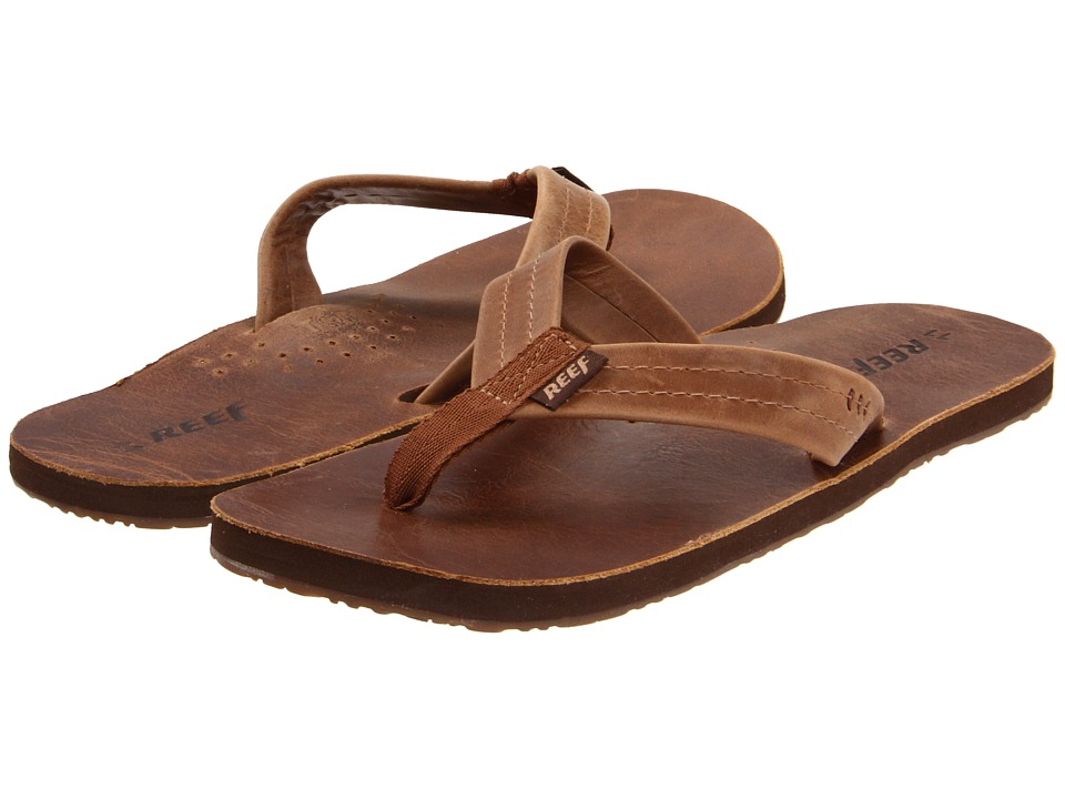 Reef - Draftsmen (Brown/Bronze) Men's Sandals
