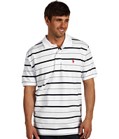 U.S. Polo Assn - Yarn Dye Pique Striped Polo