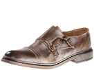 Frye - James Double Monk (Tan Antique Pull Up) - Footwear
