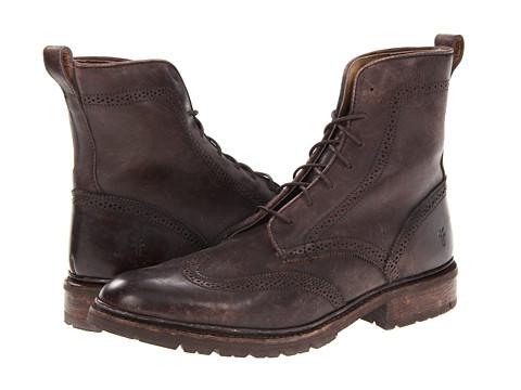Frye James Lug Wingtip Boot